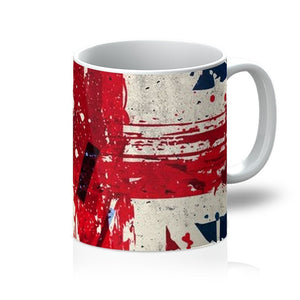 Abstract Union Jack Mug