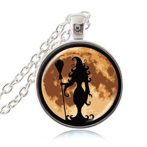 Witch Themed Pendant Collection. Hauntingly Beautiful!