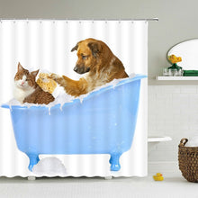 Load image into Gallery viewer, Fun and Happy, Artistic Shower Curtains! - Multiple Styles Available
