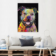 Load image into Gallery viewer, Pit Bulls Will Steal Your Heart - Canvas Print