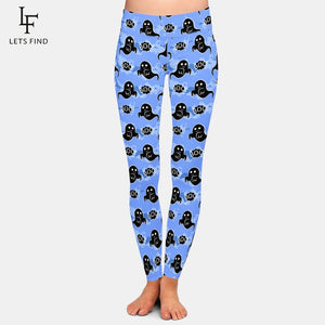 Halloween Themed Yoga Pants. Three Different Styles To Choose From!
