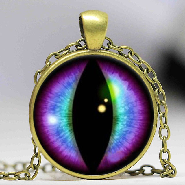 Dragons Eye Pendant Necklace