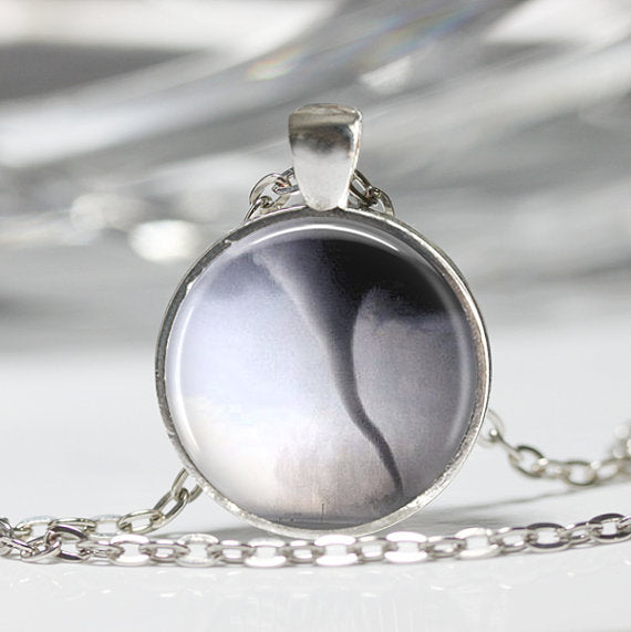 Tornado Pendant Necklace