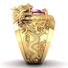 Load image into Gallery viewer, Mens Dragon Ring!