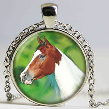 Load image into Gallery viewer, Winged Unicorn Pendant Necklace