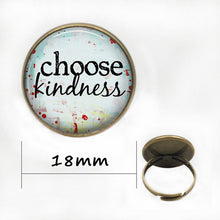 Load image into Gallery viewer, Choose Kindness Pendant Necklace
