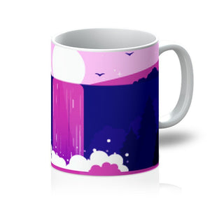 Purple Waterfall Mug