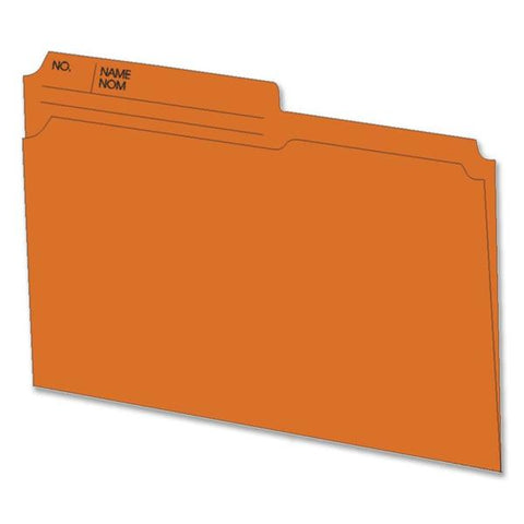 ACCO Colored Top Tab File Folders