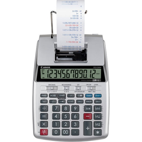Canon, Inc P23-DHV-3 12-digit Printing Calculator