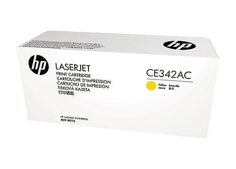 HP 651A (CE342AC) LaserJet Enterprise 700 Color MFP M775 Yellow Original LaserJet Contract Toner Cartridge (16000 Yield)