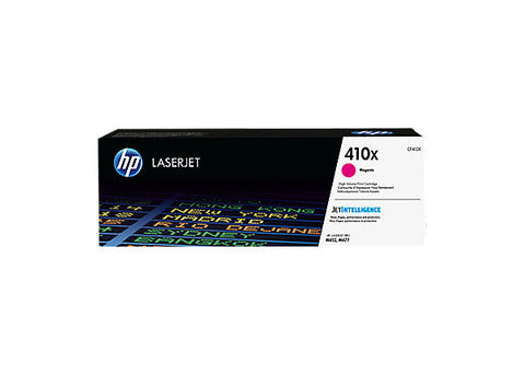 HP 410X (CF413X) Color LaserJet Pro M452 MFP M477 High Yield Magenta Original LaserJet Contract Toner Cartridge (5000 Yield)