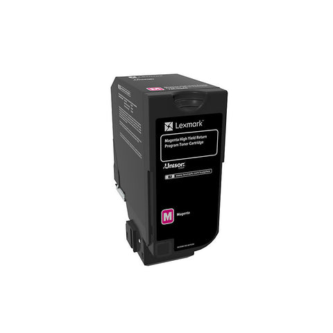 Lexmark CS725 High Yield Magenta Return Program Toner Cartridge (12000 Yield)