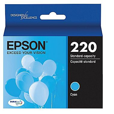 Epson XP-330 430 434 DuraBrite Ultra Cyan Ink Cartridge (165 Yield)