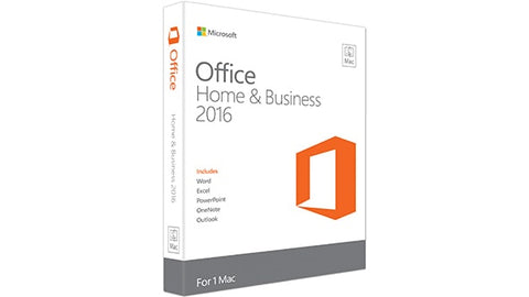 Microsoft Corporation  Office 2016 Home & Student - 1 Mac - Non-commercial, Medialess