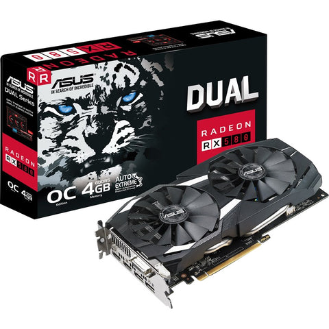 Asus Dual Series RX 580 4GB OC Edit