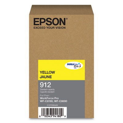 Epson Yellow Ink Pack 1,700 Pages (T912420)