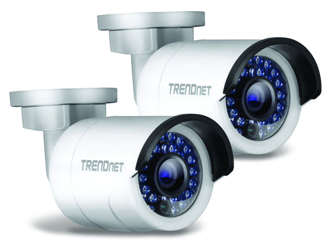 TREND OUTDOOR 1.3 P HD POE IR NETWORK CAMERA TWIN,3 YEAR LIMITED WARRA