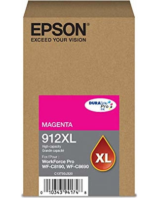 Epson Magenta Ink Pack 4,600 Pages (T912XL320)