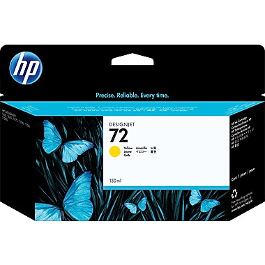 HP 72 (C9373A) Yellow Original Ink Cartridge (130 ml)