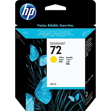 HP 72 (C9400A) Yellow Original Ink Cartridge (69 ml)
