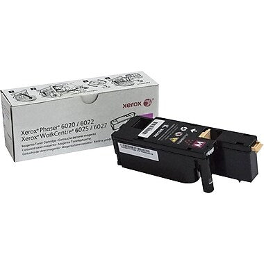 Xerox Phaser 6022 WorkCentre 6027 Yellow Toner Cartridge (1000 Yield)