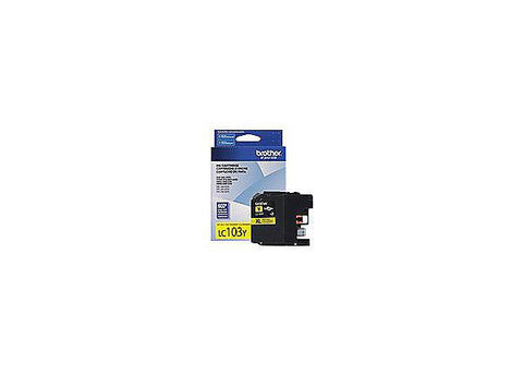 Brother High Yield Yellow Ink Cartridge (600 Yield)