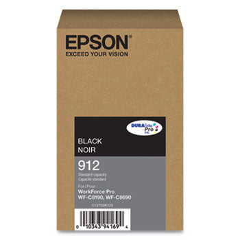 Epson Black Ink Pack 2,900 Pages (T912120)