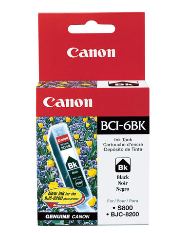 Canon, Inc (BCI-6BK) Black Ink Tank