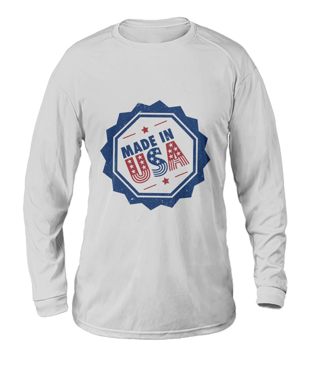 The Patriot - Made in the USA Long-Sleeve Tee