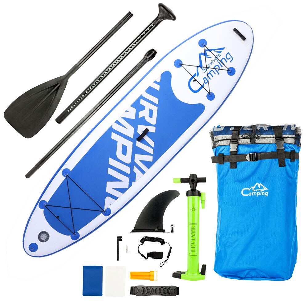 "10'10"" Inflatable Stand Up Paddle Board for Youth & Adult"