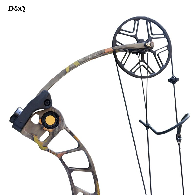 Archery Hunting Compound Bow 50-70lbs CNC Aluminum Alloy Right Hand