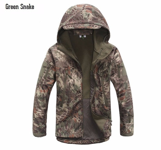 New Digital Camouflage Tactical Jacket
