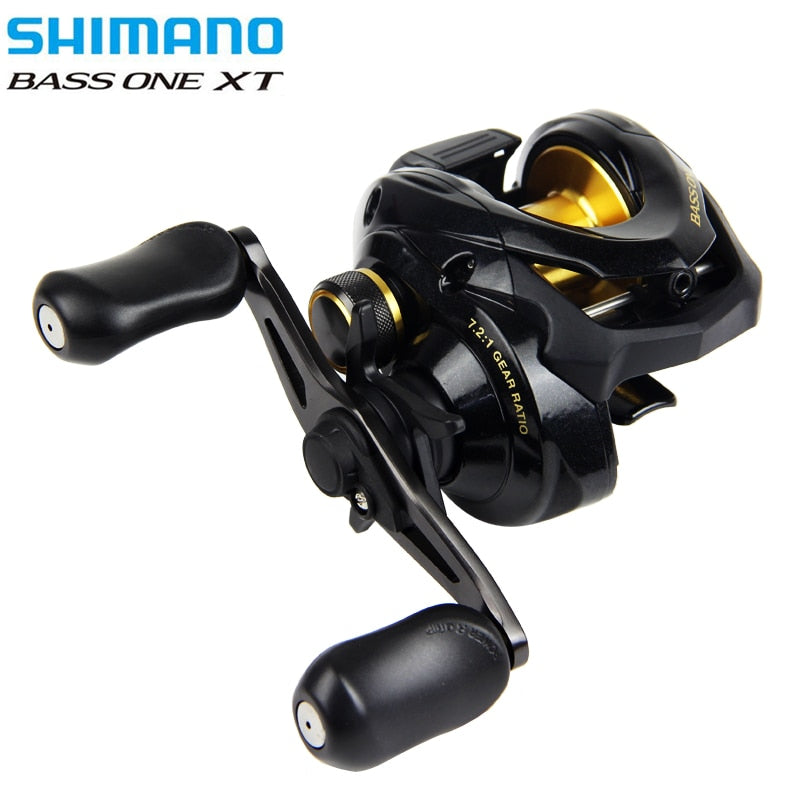 Shimano BASS ONE XT  Left/Right Hand 7.2:1 High Ratio Freshwater Baitcaster