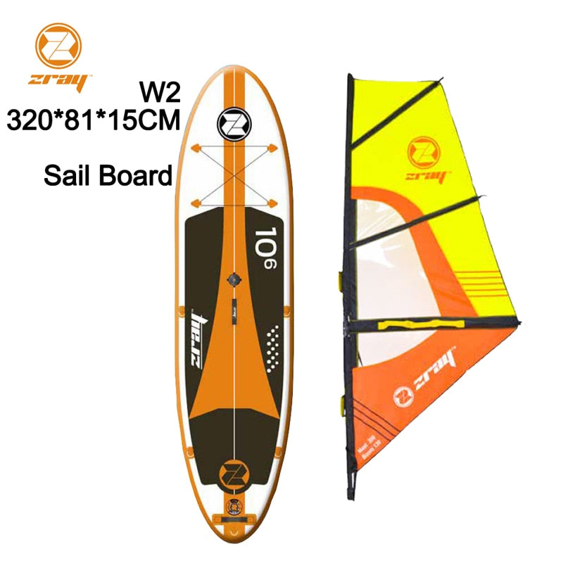 320*81*15 Z RAY W2 wide inflatable stand up paddle board