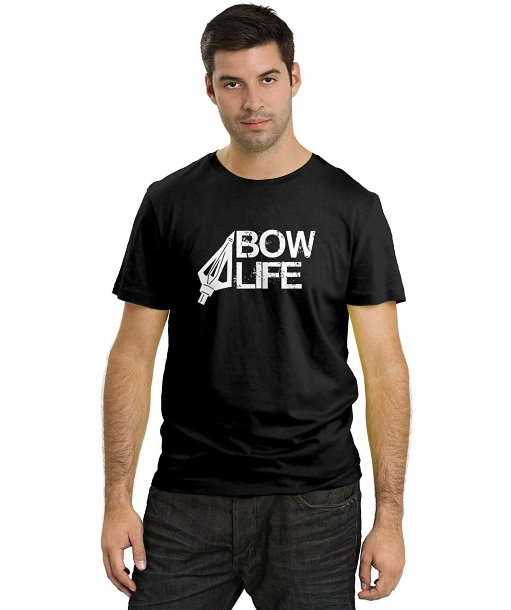 2019 Cool Men Tee Shirt Bow Life Graphic Tee