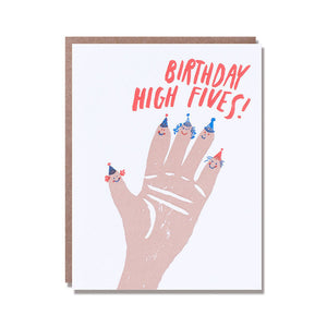 Birthday High Fives Card