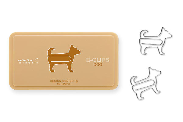 D-Clips Animal Paper Clips (30-Pack)
