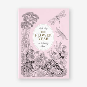 The Flower Year Coloring Book