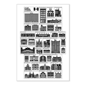 Lost Buildings of Canada Print