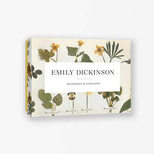 Emily Dickinson Notecard Set (12-Pack)