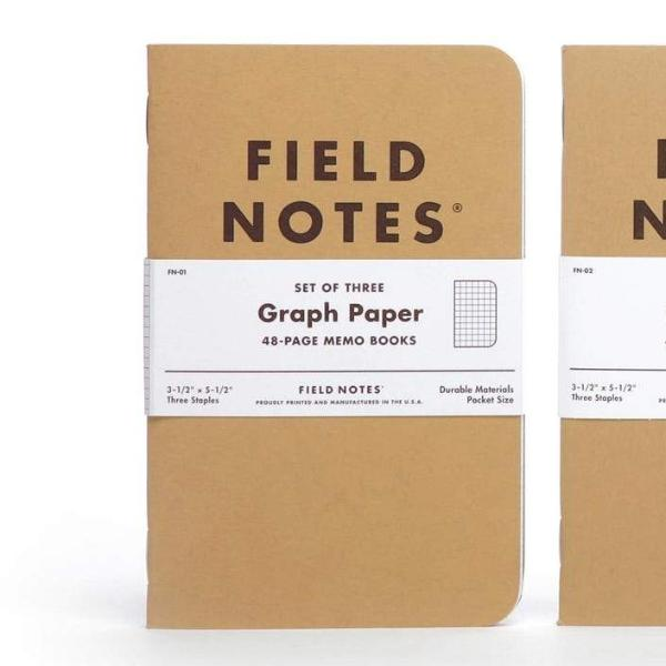 Field Notes Kraft Notebooks (3-Pack)