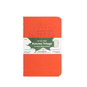 Field Notes Autumn Trilogy (3-Pack)