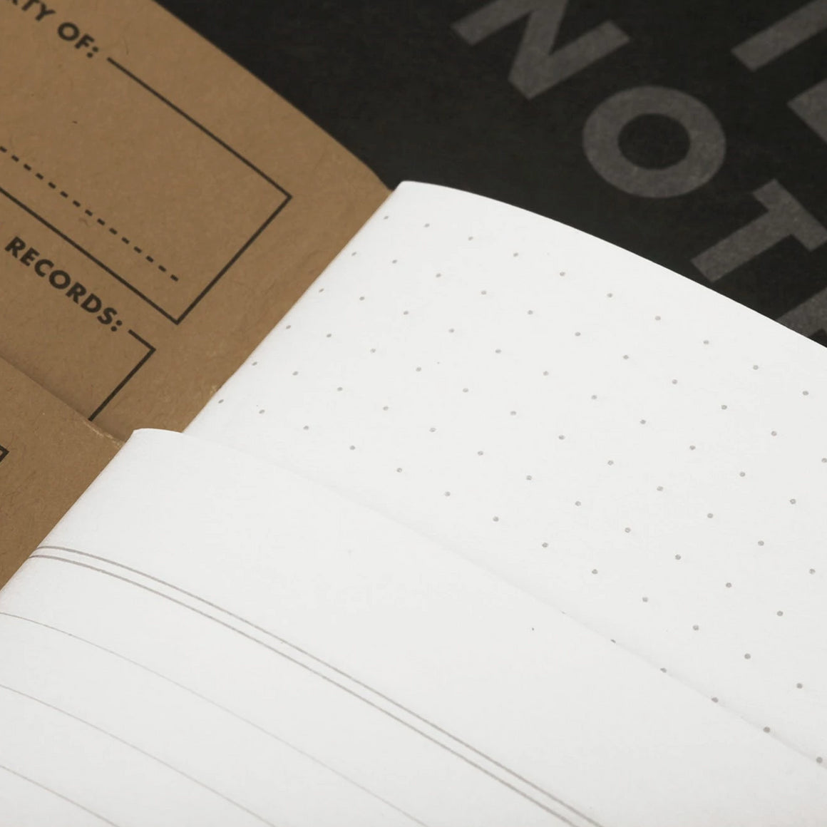Field Notes Pitch Black Notebooks (3-Pack)