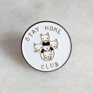 Stay Home Club Enamel Pins (Various)
