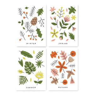 Seasons Prints (Set of 4)