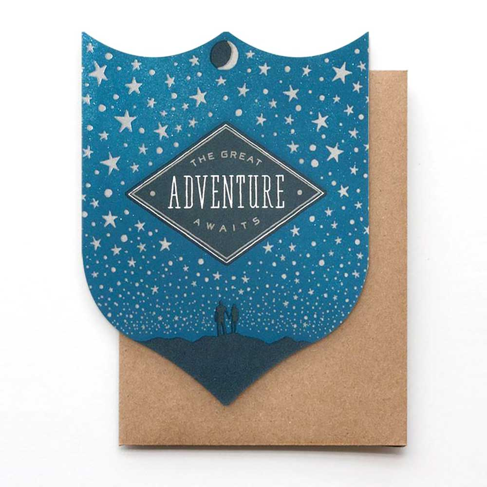 The Great Adventure Awaits Card