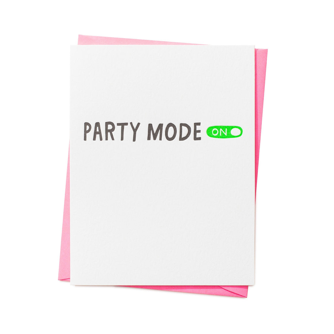Party Mode On Card