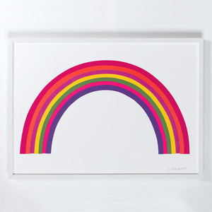 Rainbow Screen Print