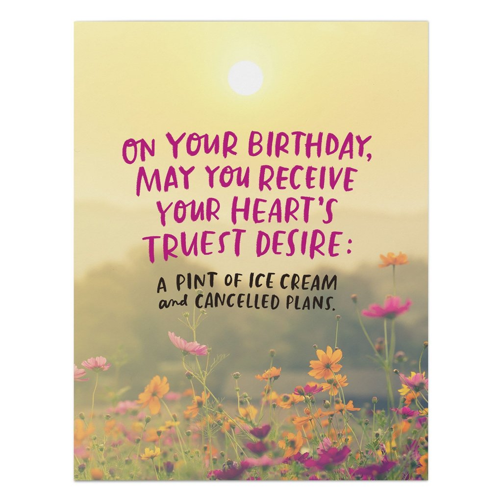 Hearts Desire Birthday Card