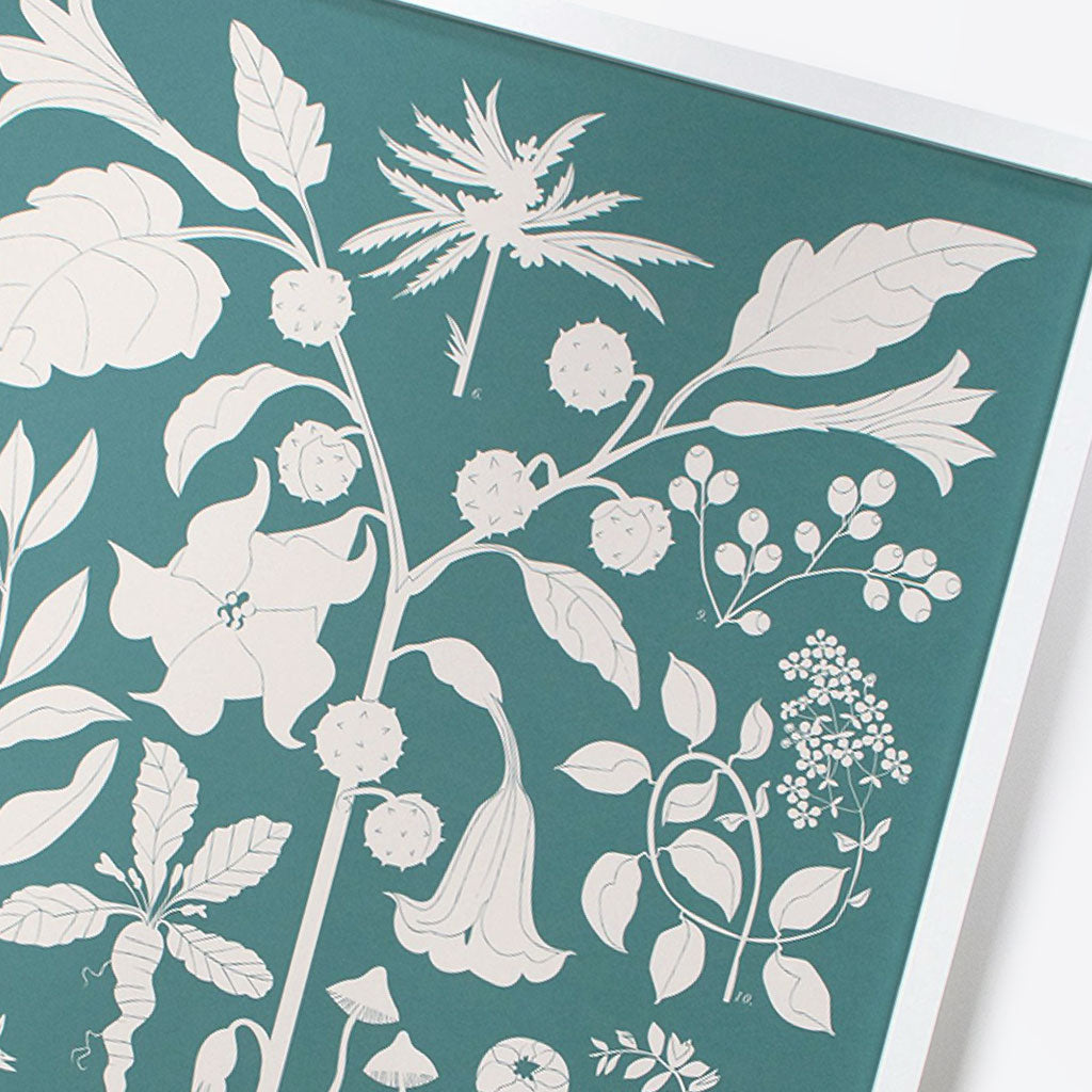 Fantastic Plants Screen Print